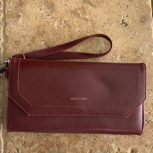 Matt & Nat vegan wallet wristlet